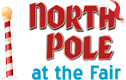 North Pole at the Fair – Puyallup Santa Photos Logo
